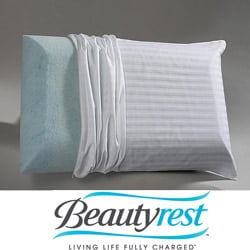 Beautyrest Marble Gel Classic Memory Foam Pillow