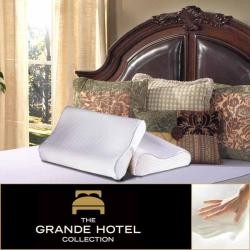 Grande Hotel Collection Contour Memory Foam Pillow