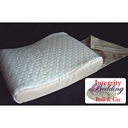 Rayon from Bamboo and Visco Memory Foam Mini Travel Pillow