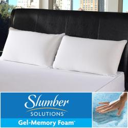Slumber Solutions Gel Memory Foam Classic Sleep Pillow