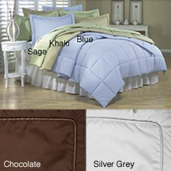 Microfiber 3-piece Down Alternative Comforter Set