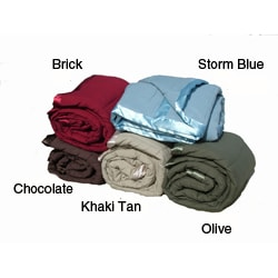 Microfiber Down Alternative Throws (Set of 2)