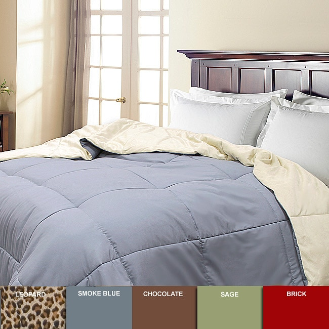 Microplush Reversible Down Alternative Comforter