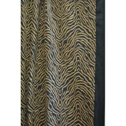 Modern Safari Shower Curtain