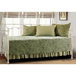 Moroccan Eucalyptus 5-piece Day Bed Quilt Set