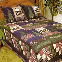 Mountain Trip 3-piece Quilt Set
