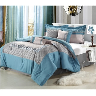 Mustang Blue 8-piece Comforter Set