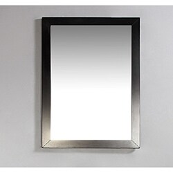 New Haven 22x30-inch Espresso Brown Bath Vanity Decor Mirror