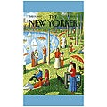 'New Yorker Central Park' Cotton Beach Towel