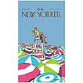 'New Yorker On Duty' Cotton Beach Towel