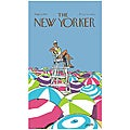 &#39;New Yorker On Duty&#39; Cotton Beach Towel