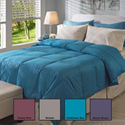 Oversized 350 Thread Count All Season Down Comforter