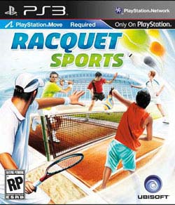 PS3 - Racquet Sports - By UbiSoft