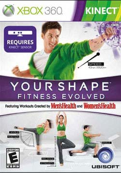Xbox 360 - Your Shape: Fitness Evolved (Kinect)
