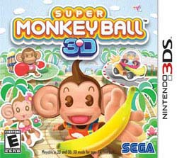 NinDS 3DS -  Super Monkey Ball - By Sega