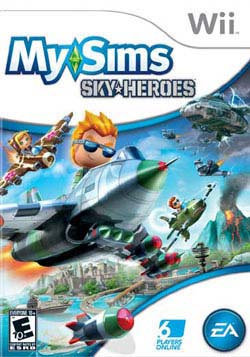 Wii - MySims Sky Heroes