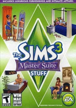 PC - Sims 3 Master Suite Stuff