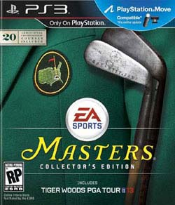 PS3 - Tiger Woods 13 Collector's Edition
