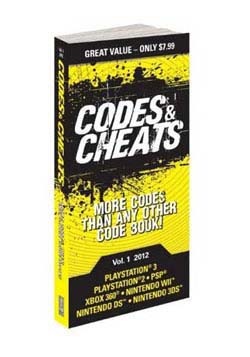 PS3 - Codes & Cheats Vol 1 2012