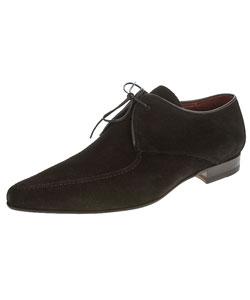 gianfranco ferre s black suede shoes 10015726