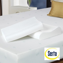 Serta Contour Memory Foam Pillows (Set of 2)