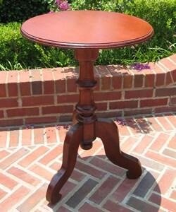 Mahogany Small Round Table