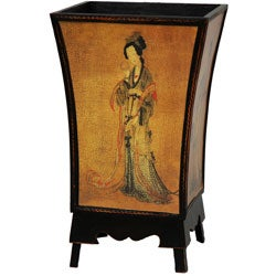 Enchanted Lady Waste Basket (China)