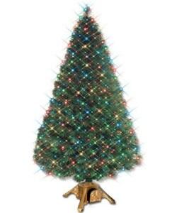 EZ Change Fiber Optic Christmas Tree (7 ft.)