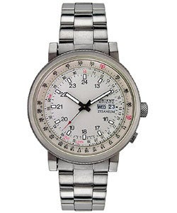 Orient Men's Automatic Titanium Watch