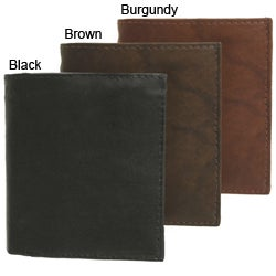 Signature Genuine Leather Tri-fold Wallet (case of 3)