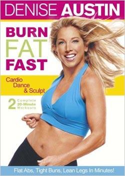 Denise Austin - Burn Fat Fast (DVD)