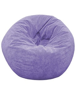 Gold Medal Lilac Sueded Corduroy Jumbo Bean Bag