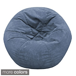 Adult Sueded Corduroy Bean Bag Chair
