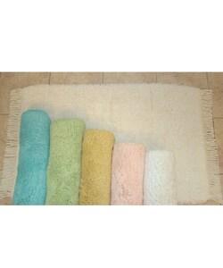 Super Plush Cotton Bath Rugs (Set of 2)