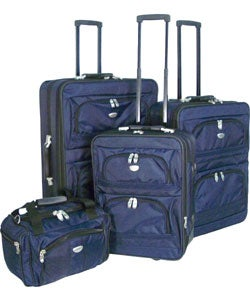 Chaps Series 4-piece Luggage Set