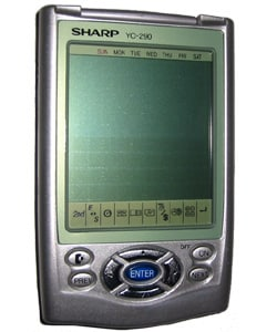 Sharp Electronic Anizer Pda Refurbished Overstock