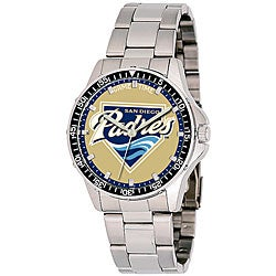 San Diego Padres Coach Series Steel Watch
