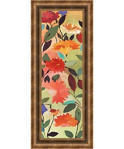 Kim Parker - Freesia Framed Canvas Print