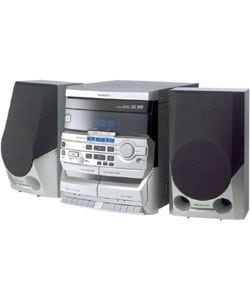 Magnavox MAS100 3-disc CD Mini HiFi Stereo System