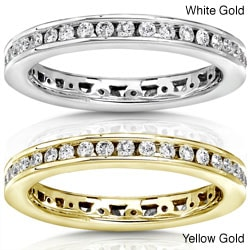14k Gold 1/2ct TDW Round Diamond Eternity Band (G-H, I1-I2)