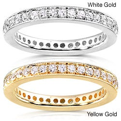 14k Gold 1/2ct TDW Diamond Eternity Band (G-H, I1-I2)