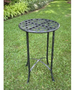 Iron Plant Patio Table