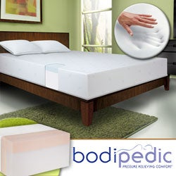 Bodipedic 10-inch Full-size Memory Foam Mattress and Cover Set