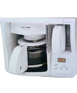 Black And Decker Spacemaker Coffee Maker Parts : Black & Decker Spacemaker 12-cup Coffee Maker (Refurbished) - 1015787 - Overstock.com Shopping ...