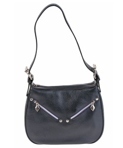 I Santi Diamant  Leather Handbag
