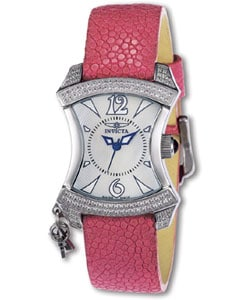 Invicta Women's Hanging Charm Pink Stingray Watch
