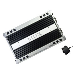 MDX 2-Ch 1200 Watts Amplifier With Bass Knob