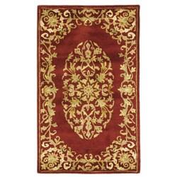 Safavieh Handmade Heritage Red Wool Rug (2' x 3')