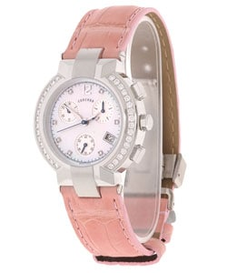 Concord La Scala Women's Diamond Chronograph Watch