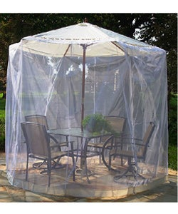 Natural Umbrella Mosquito Net (11 ft.)